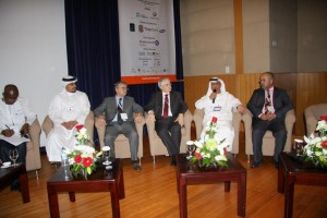 At eAGE'12 conference in Dubai: Europe-Palestine Research Cooperation – Ongoing Projects at Sina Institute at Birzeit University